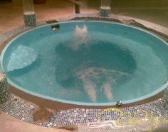 Гидромассаж в пластиковом бассейне