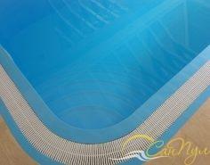 Переливной полипропиленовый бассейн фото