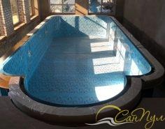 переливной полипропиленовый бассейн строительство
