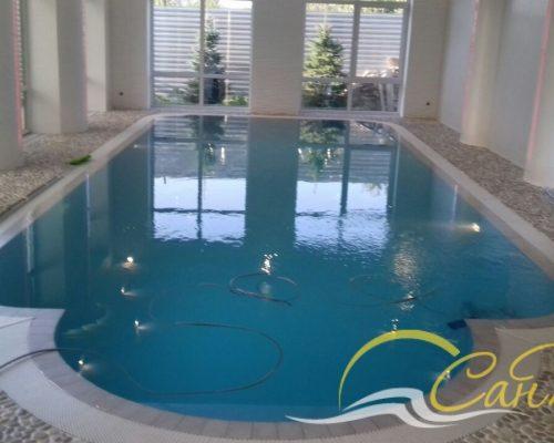 Переливной полипропиленовый бассейн
