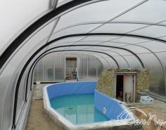 Большой павильон для бассейна