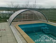 Композитный бассейн с павильоном купить
