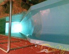 Водяная горка в пластиковый бассейн