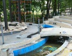 Реставрация фонтана