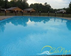 Турбаза с бассейнами фото