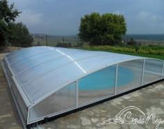 Построить бассейн с павильоном