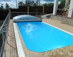 фото бассейна с павильоном