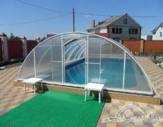 Павильон для бассейна 8х4м