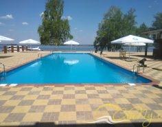 Полипропиленовый бассейн 25х8м фото