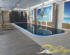 Переливной бассейн с чашей ОЛИМПИК
