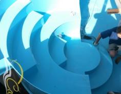Римская лестница для полипропиленового бассейна