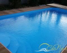 Фото бассейна с римской лестницей