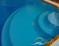 Полипропиленовая чаша с гейзером