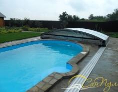 Полипропиленовый бассейн с павильоном