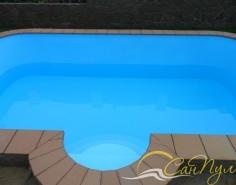 Клинкерная плитка для отделки бортика бассейна