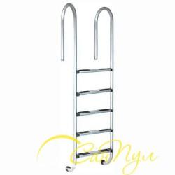 Лестница 5 ступени (у.б.) Emaux NMU515-S AISI-304 (88076604)