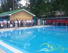 Бассейн в детском оздоровительном лагере