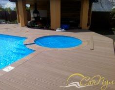 Гидромассажный бассейн диаметром 3м