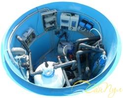 Комплект  оборудования для бассейна до 30 м.куб. с подогревом от котла