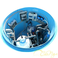 Комплект оборудования для бассейна до 50 м.куб.