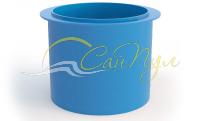 Купель пластиковая круглая 1,2×1,5×1,6