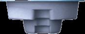 Вид сбоку Модель «СПА СКИММЕРНОГО ТИПА»