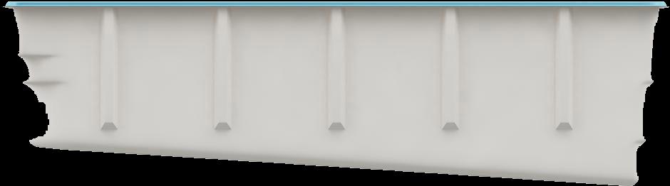 Вид сбоку Модель «SwimTrack 61»