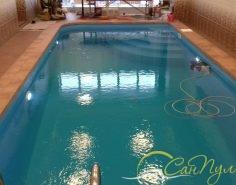 Частный полипропиленовый бассейн