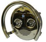 Противоток (закладная+панель лицевая) 75 м3/ч с сенсорной кнопкой и блоком управления