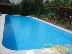 полипропиленовый бассейн для дачи