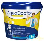 AquaDoctor MC-T хлор 3-в-1 длит. действия 5 кг